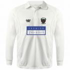 L/S Cricket Shirt - White
