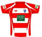 Rugby Shirt - Red/White