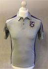 PE Polo - Purple/Silver