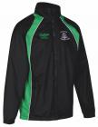 Black/Green Track Jacket